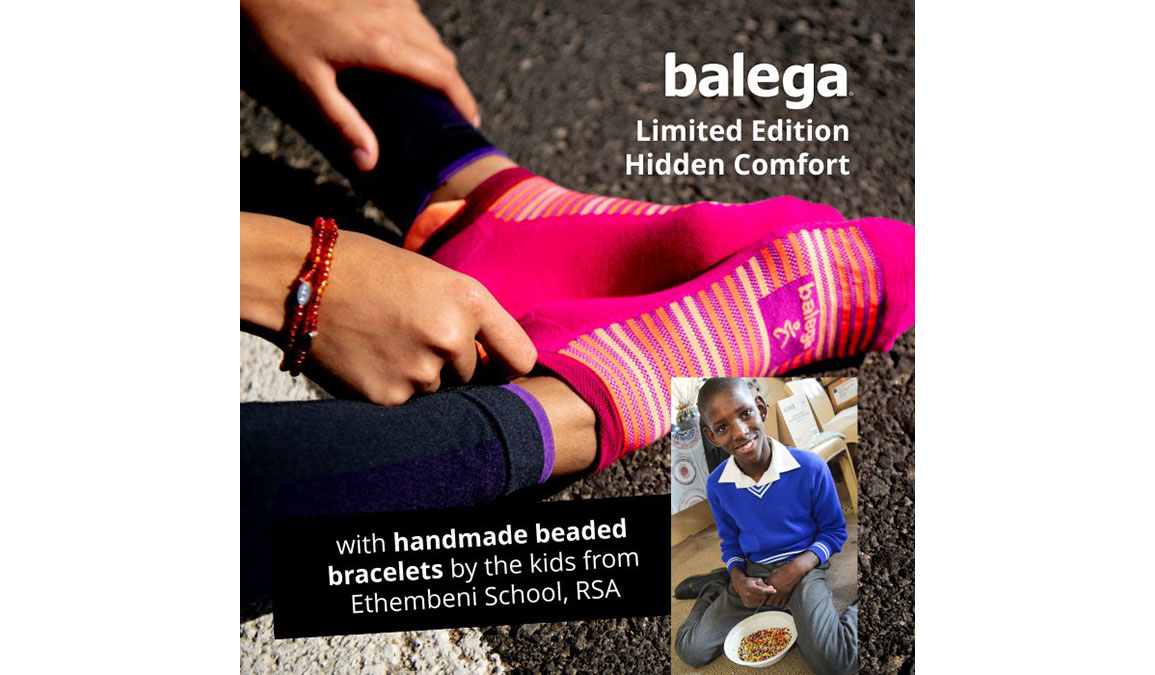 Balega Hidden Comfort No Show - Limited Edition with Bracelet, , large, image 2