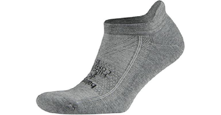Balega Hidden Comfort No Show Socks - Color: Charcoal - Size: S