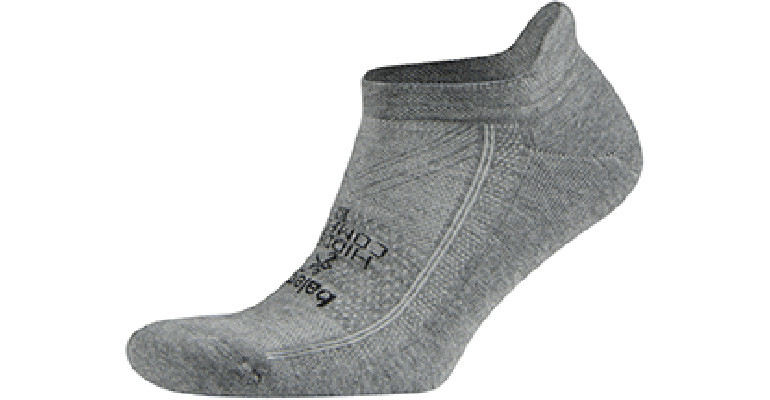 Balega Hidden Comfort No Show Socks - Color: Charcoal - Size: S, Charcoal, large, image 1