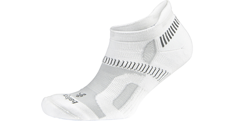 Balega Hidden Contour Sock - Color: White - Size: M, White, large, image 1