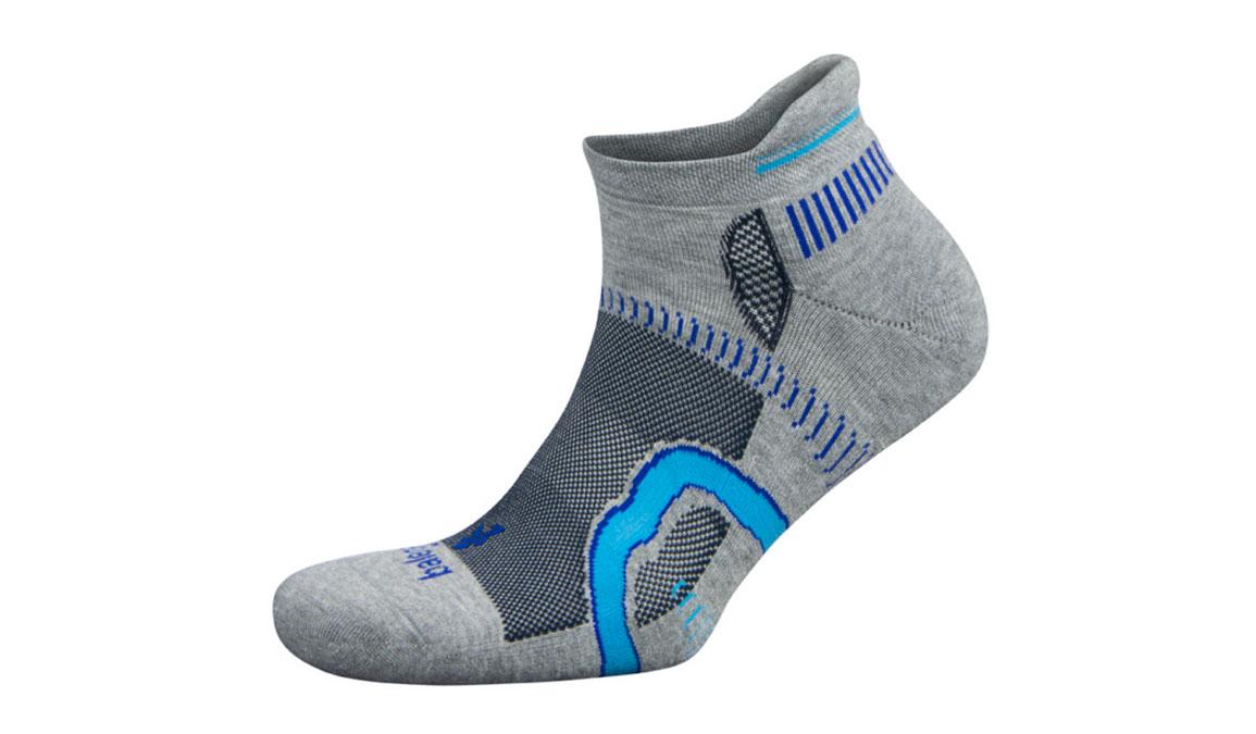 Balega Hidden Contour Socks - Color: Grey/Ink Size: S, Grey/Blue, large, image 1
