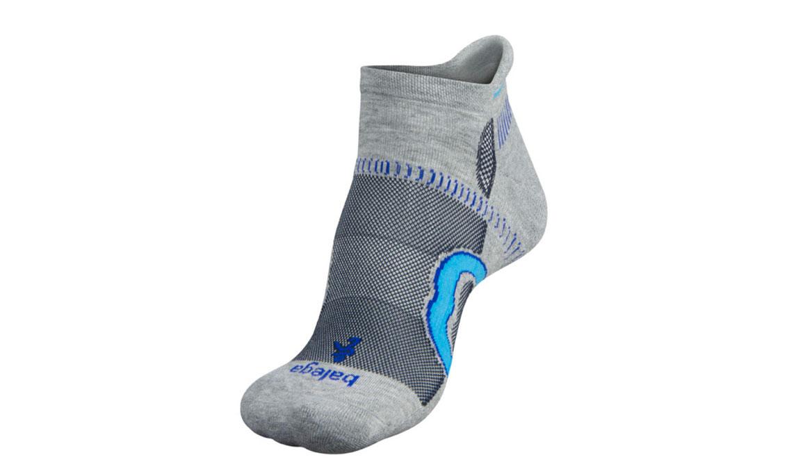 Balega Hidden Contour Socks - Color: Grey/Ink Size: S, Grey/Blue, large, image 2