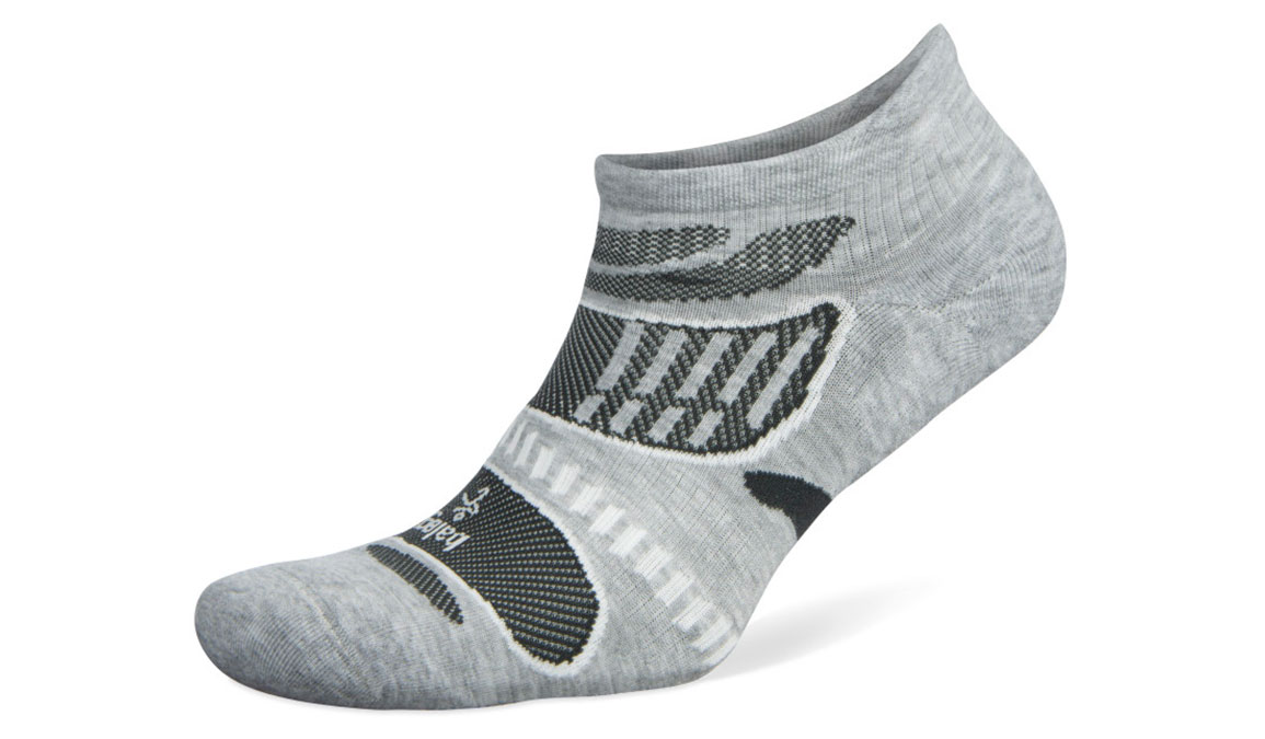 Balega Ultra Light No Show Sock - Color: Grey/White Size: S, Grey/White, large, image 1