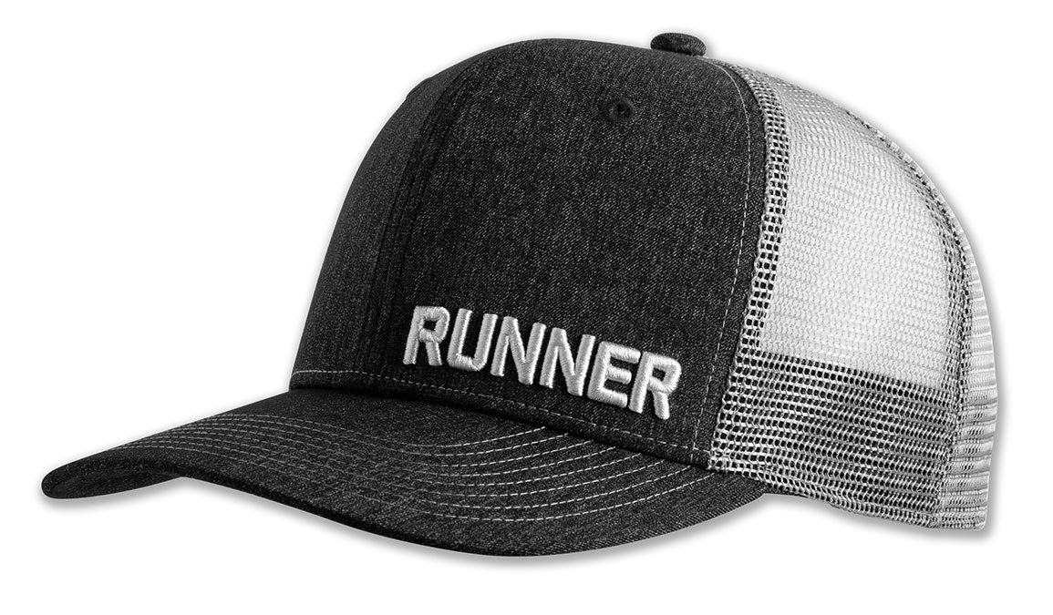 Brooks Discovery Trucker Hat - Color: Heather Black Size: OS, Heather Black, large, image 1
