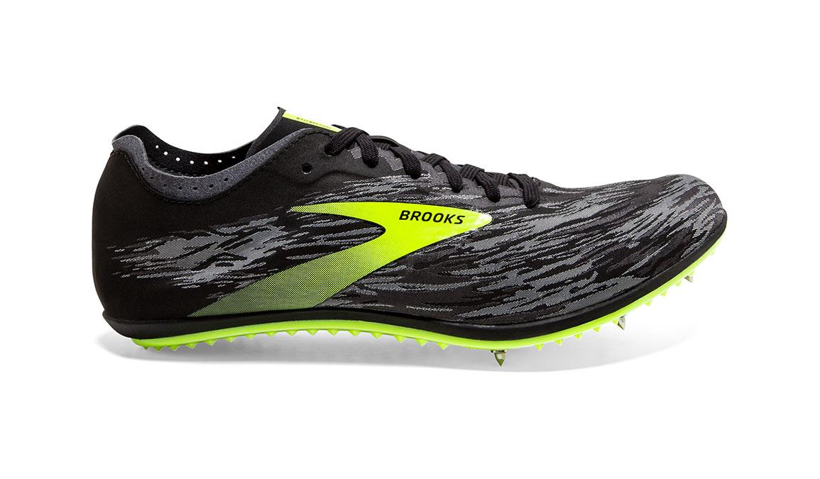 Brooks ELMN8 V5 Track Spike - Color: Black/Grey/Nightlife (Regular Width) - Size: 12.5, Black/Grey, large, image 1