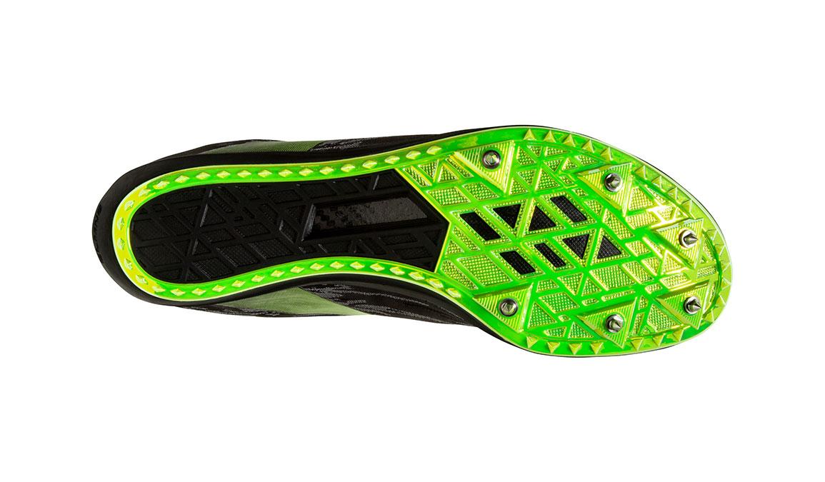 Brooks ELMN8 V5 Track Spikes - Color: Black/Grey/Nightlife (Regular Width) - Size: 12.5, Black/Grey, large, image 6