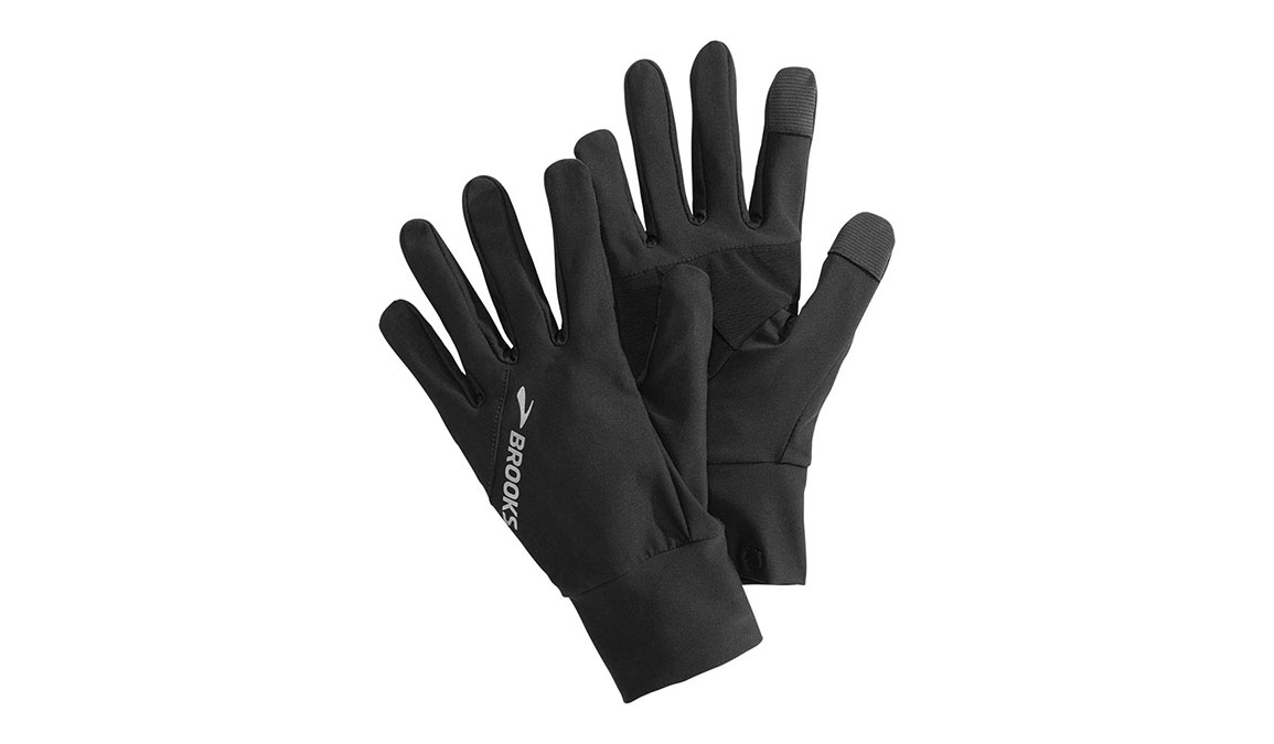 Brooks Greenlight Glove - Color: Black Size: L, Black, large, image 4