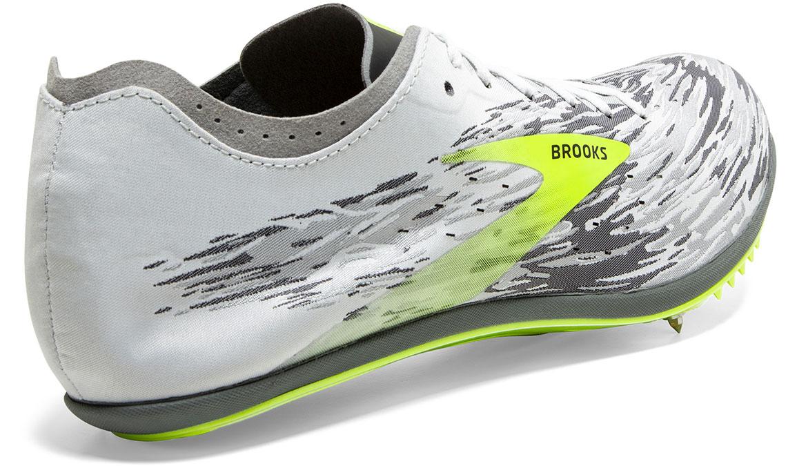Brooks Wire v6 Track Spikes - Color: Black/Grey/Nightlife (Regular Width) - Size: 6.5, Grey/Lime, large, image 4