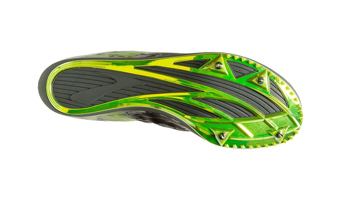 Brooks Wire v6 Track Spikes - Color: Black/Grey/Nightlife (Regular Width) - Size: 6.5, Grey/Lime, large, image 3