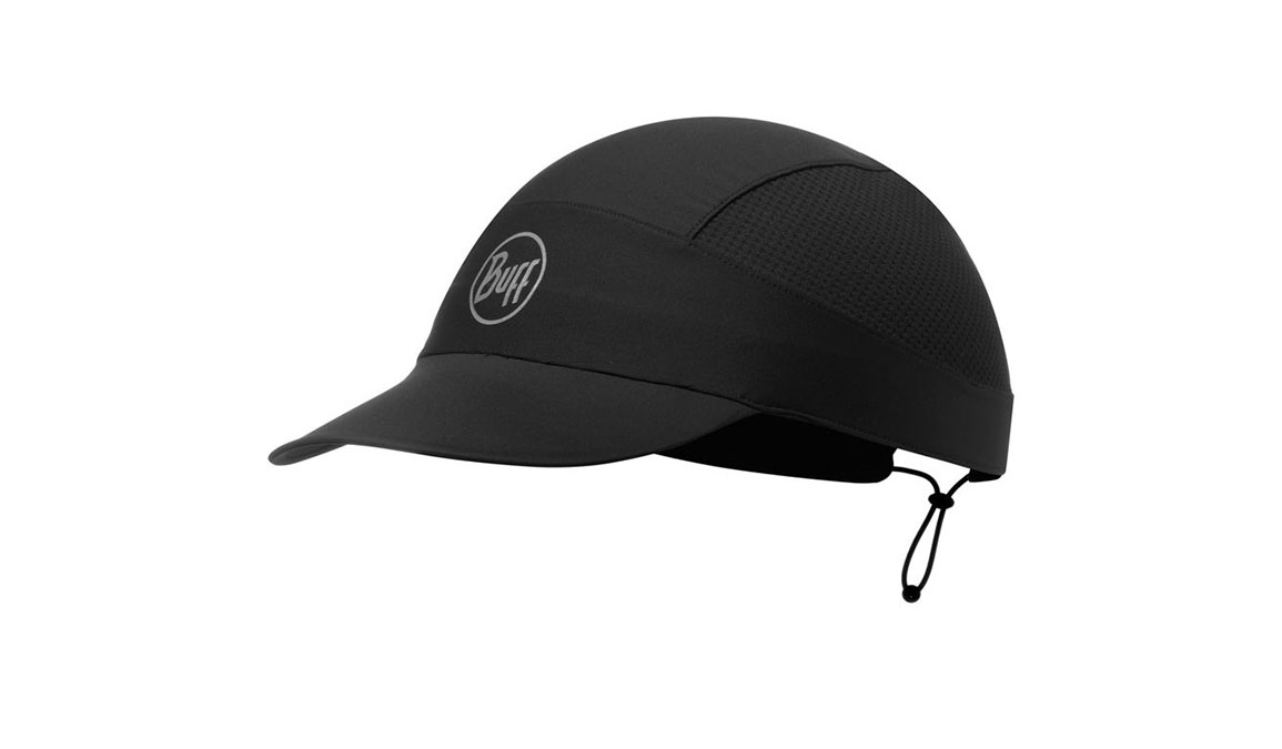 Buff Pack Run Cap - Color: R-Black, Reflective/Black, large, image 1