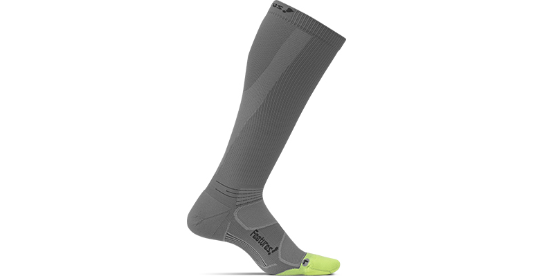 Feetures Elite Light Cushion Compression - Color: Graphite/Black - Size: S, Grey, large, image 1