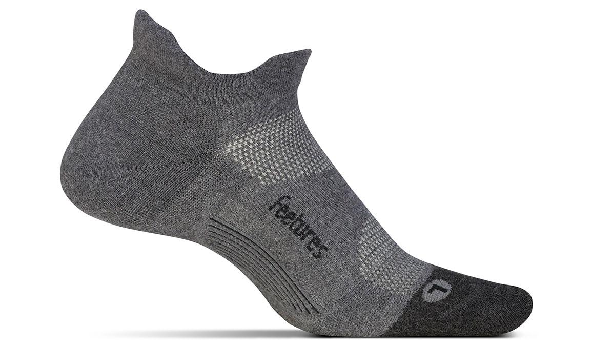 Feetures Elite Max Cushion No Show Tab Socks - Color: Grey Size: M, Grey, large, image 1