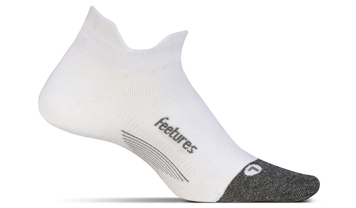 Feetures Elite Ultra Light No Show Tab Socks - Color: White Size: S, White, large, image 1