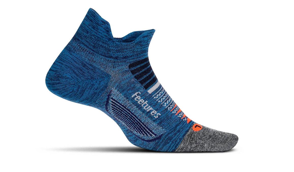 Unisex Feetures Elite Ultra Light No Show Tab Socks - Color: Nebula Navy Size: S, Navy, large, image 1