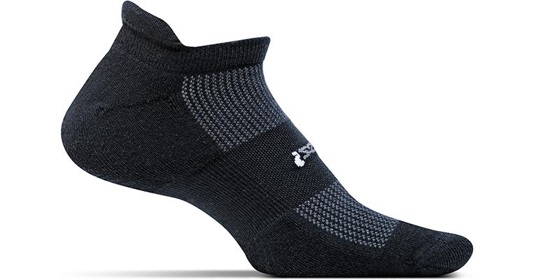 Feetures Light Cushion No Show Tab Socks, , large, image 1
