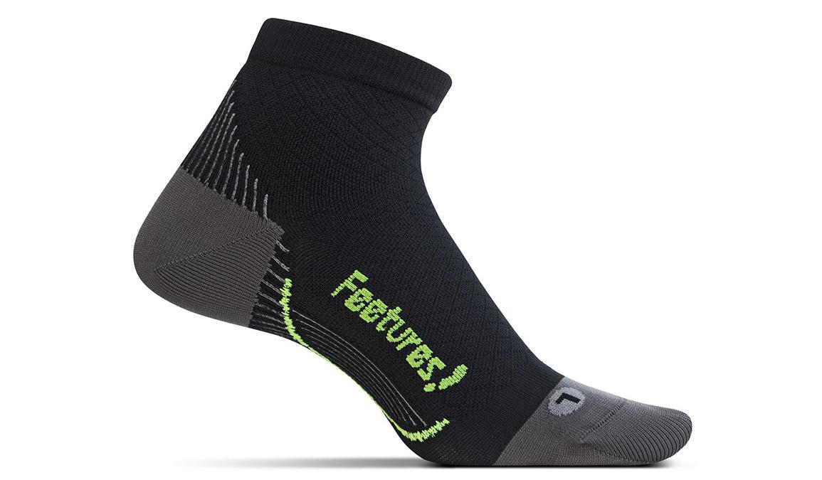 Feetures Performance Relief Ultra Light Quarter Socks - Color: Black - Size: S, Black, large, image 1