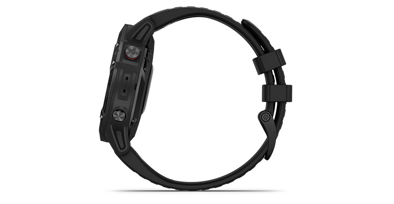 Garmin fenix 6 Multisport GPS Watch - Pro Model - Color: Black with Black Band - Case Size: 47mm, Black Band, large, image 2