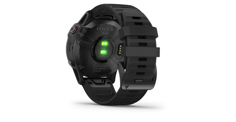 Garmin fenix 6 Multisport GPS Watch - Pro Model - Color: Black with Black Band - Case Size: 47mm, Black Band, large, image 3