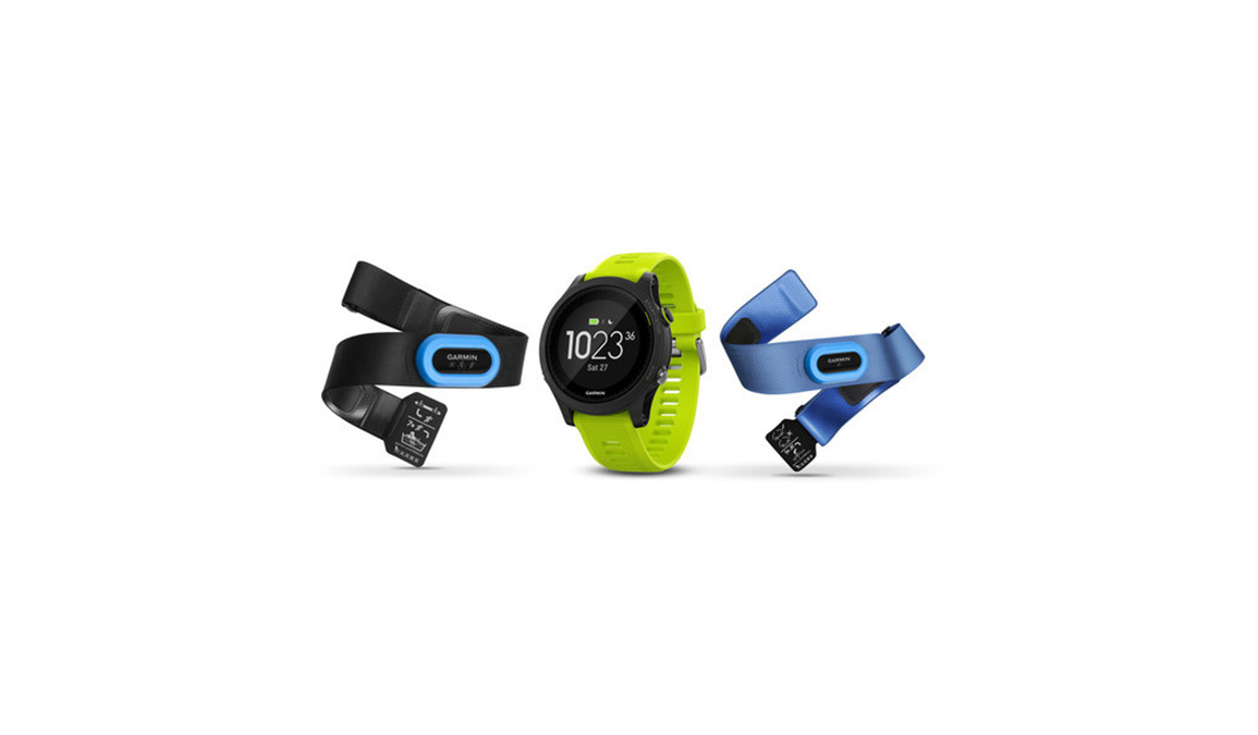 Garmin Forerunner 935 Tri Bundle - Color: Black/Yellow - Size: NS, Black/Yellow, large, image 1