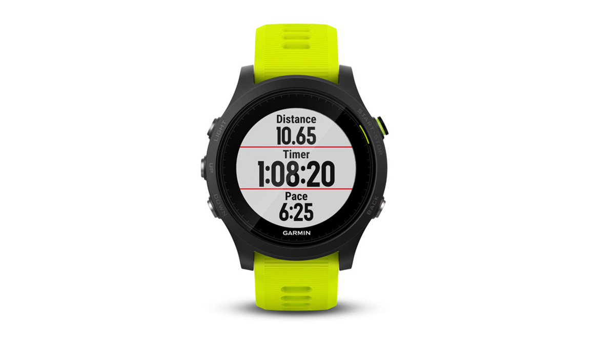 Garmin Forerunner 935 Tri Bundle - Color: Black/Yellow - Size: NS, Black/Yellow, large, image 2