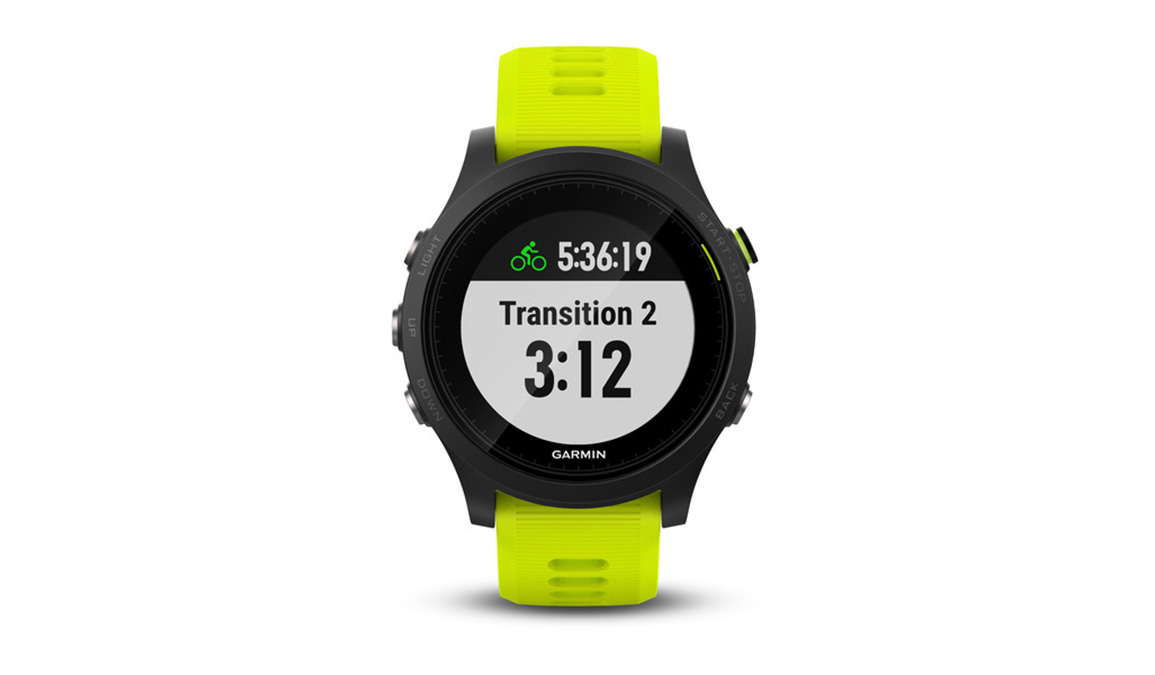 Garmin Forerunner 935 Tri Bundle - Color: Black/Yellow - Size: NS, Black/Yellow, large, image 3