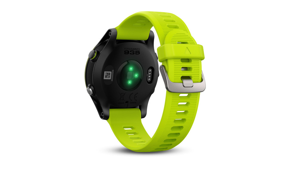 Garmin Forerunner 935 Tri Bundle - Color: Black/Yellow - Size: NS, Black/Yellow, large, image 4