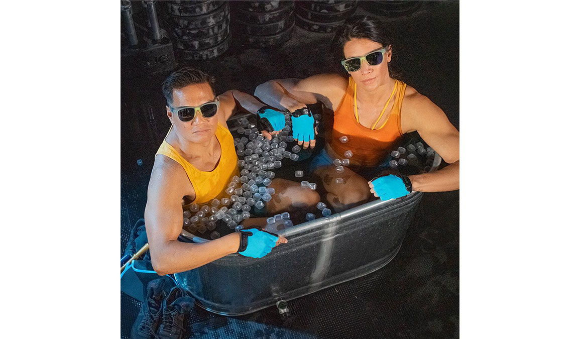 Goodr Ice Bathing With Wizards - Color: Light Blue Size: OS, Light Blue, large, image 4
