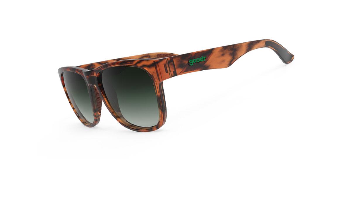 Goodr Ninja Kick the Damn Rabbit Sunglasses - Color: Orange Size: OS, Orange, large, image 1