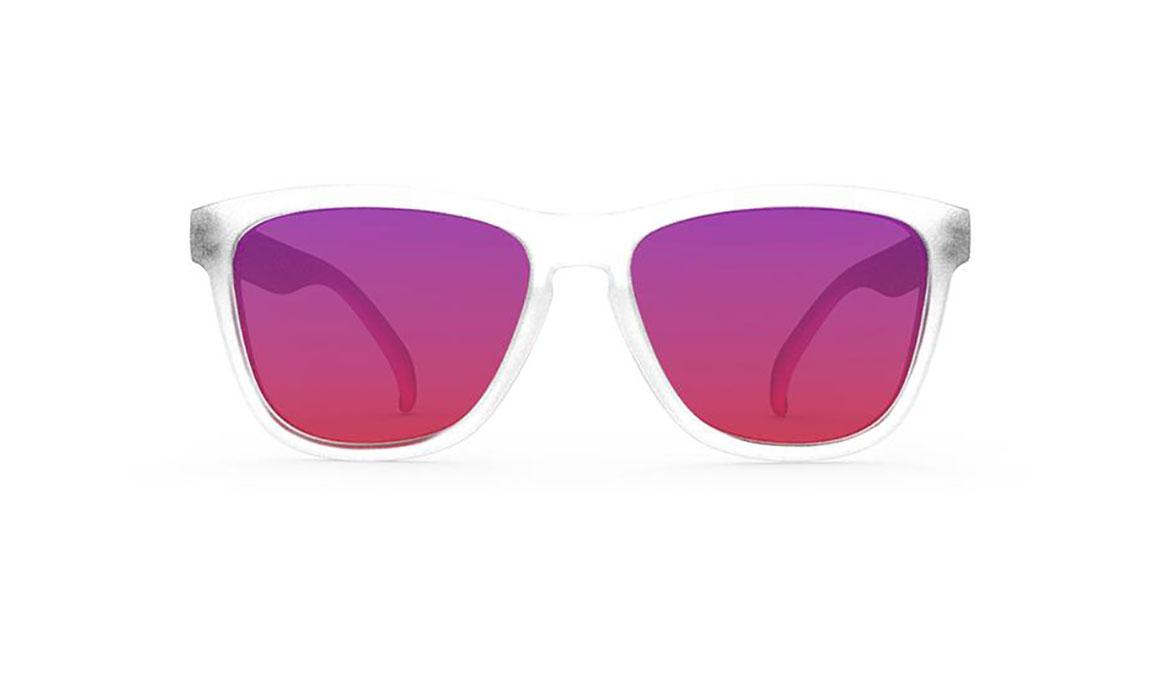 """Goodr Sunset """"Squishee"""" Brain Freeze  - Color: White Size: OS, White, large, image 2"""