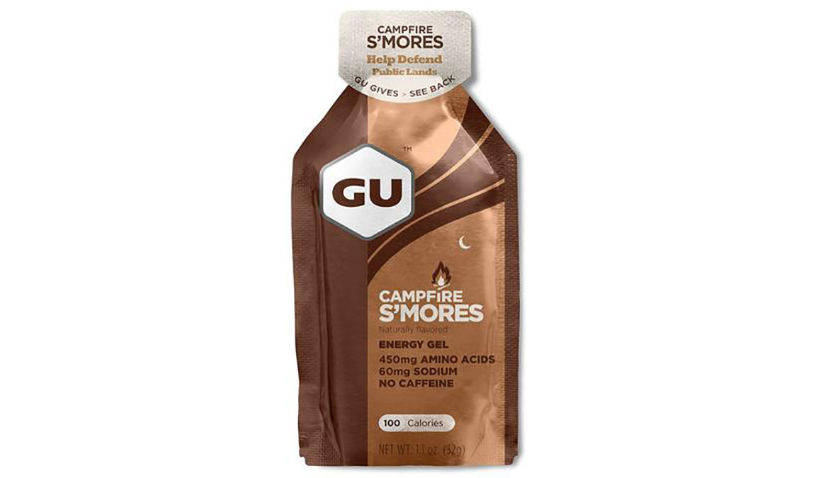 GU Energy Gel - Flavor: Campfire S'mores - Size: Box of 24, Campfire S'mores, large, image 1