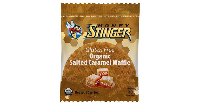 Honey Stinger Gluten Free Waffles - Flavor: Salted Caramel - Size: Box of 16, Salted Caramel, large, image 1