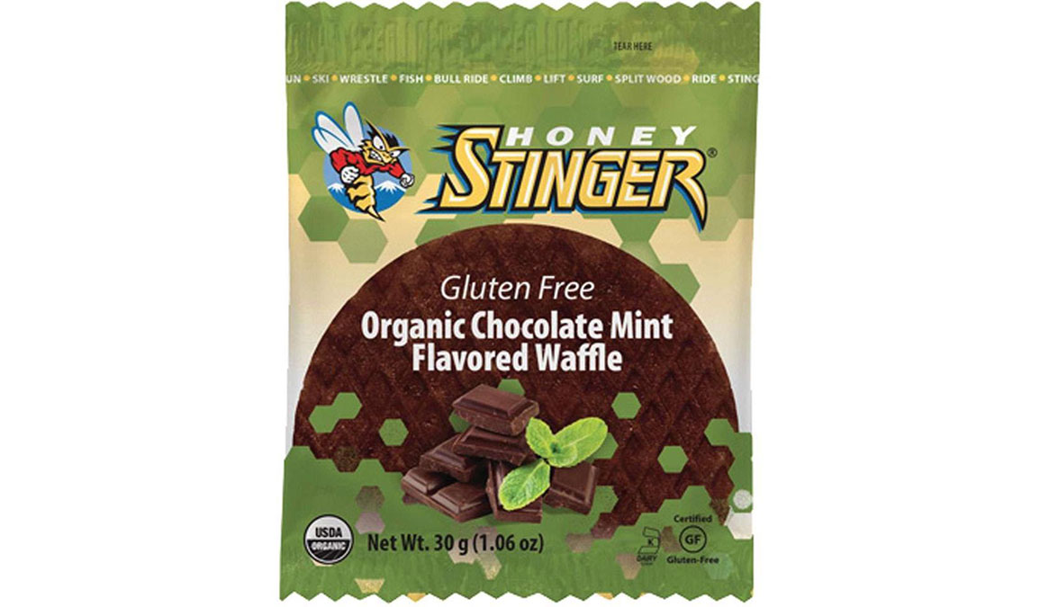 Honey Stinger Gluten Free Waffles - Flavor: Chocolate Mint - Size: Box of 16, Chocolate Mint, large, image 1