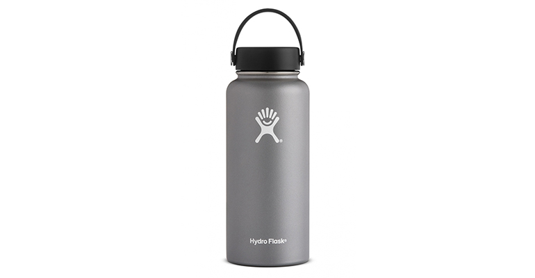 Hydro Flask 32 Oz Wide Mouth - Color: Graphite, Graphite, large, image 1