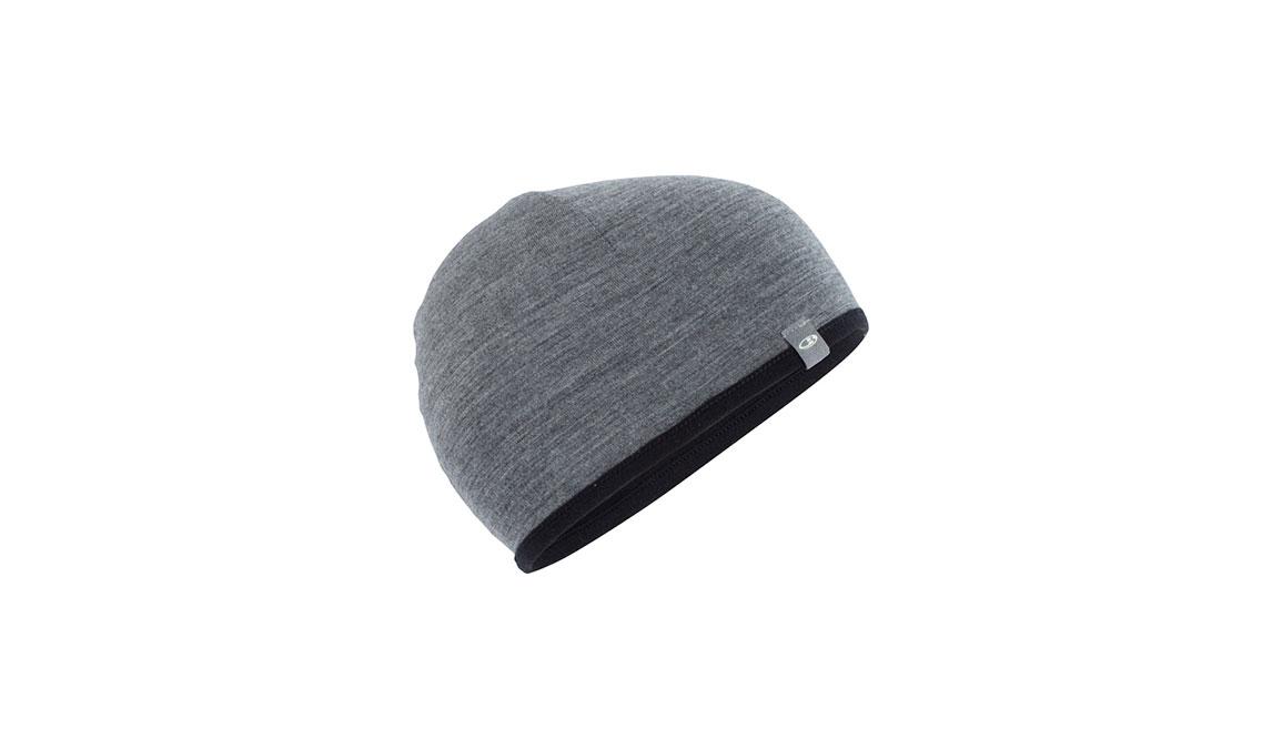 Unisex Icebreaker Pocket Hat  - Color: Black/Grey Size: OS, Black/Grey, large, image 2