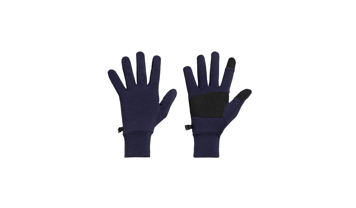 Unisex Icebreaker Sierra Gloves  - Color: Midnight Navy Size: L, Navy, large, image 1