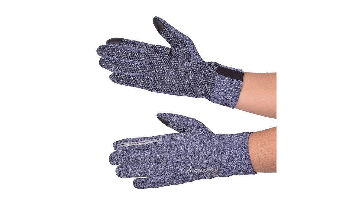 JackRabbit Blaze Smart Gloves - Color: Navy Size: L, Navy, large, image 2