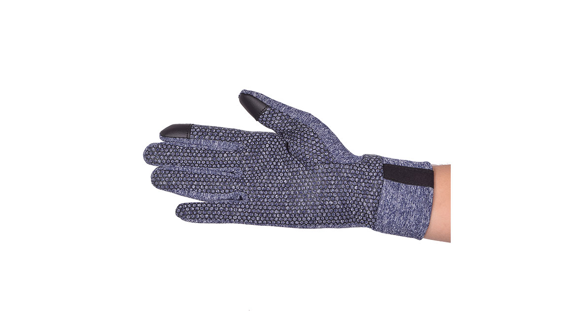 JackRabbit Blaze Smart Gloves - Color: Navy Size: L, Navy, large, image 3