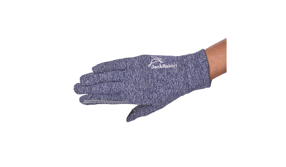JackRabbit Blaze Smart Gloves - Color: Navy Size: L, Navy, large, image 4