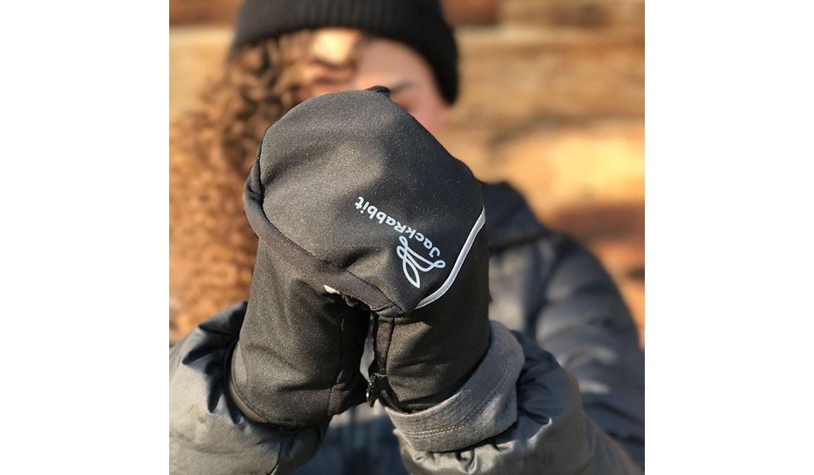 JackRabbit Dutch Gloves - Color: Black Size: M, Black, large, image 2
