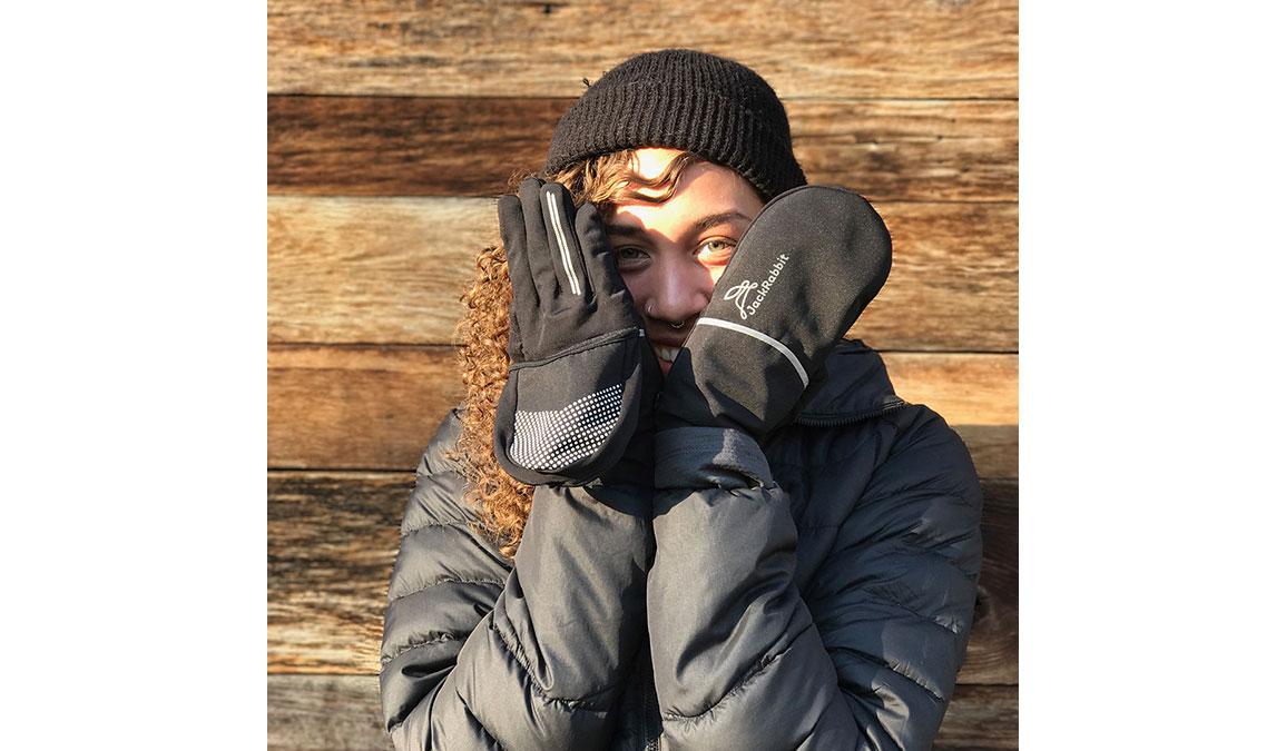 JackRabbit Dutch Gloves - Color: Black Size: M, Black, large, image 3