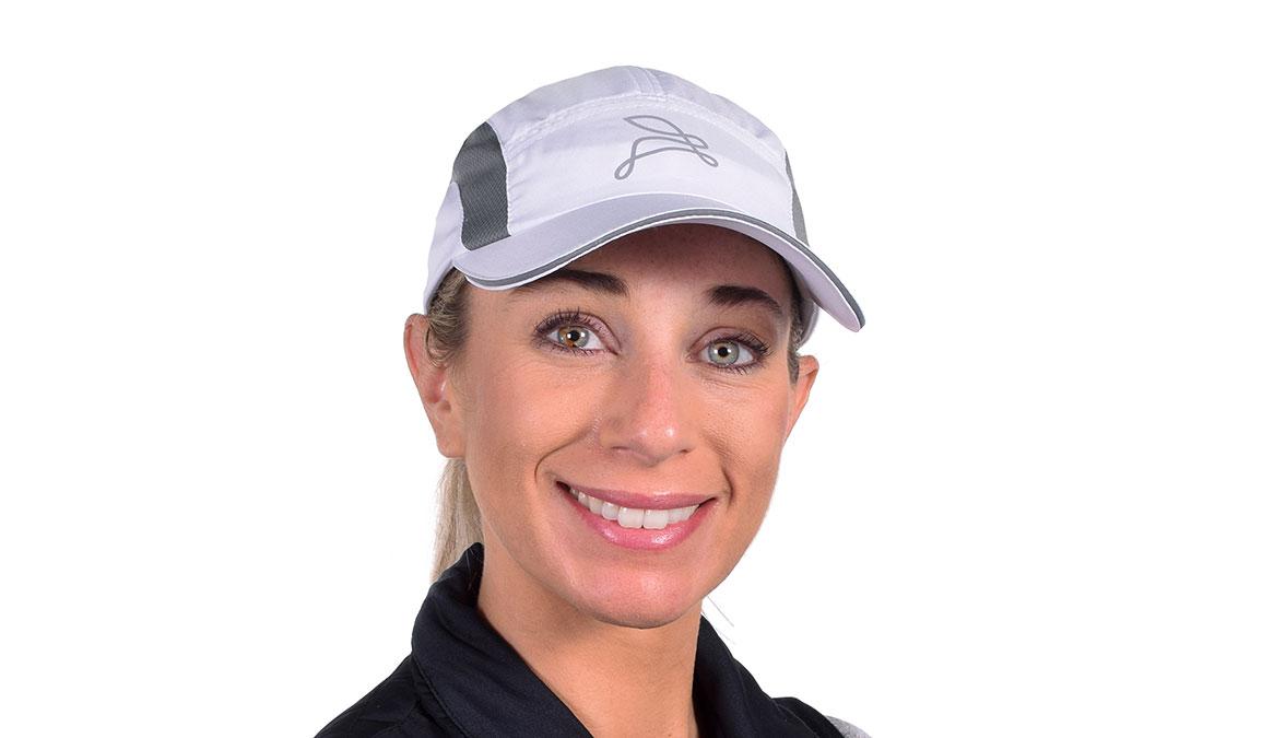 JackRabbit Run Hat  - Color: White Size: OS, White, large, image 1