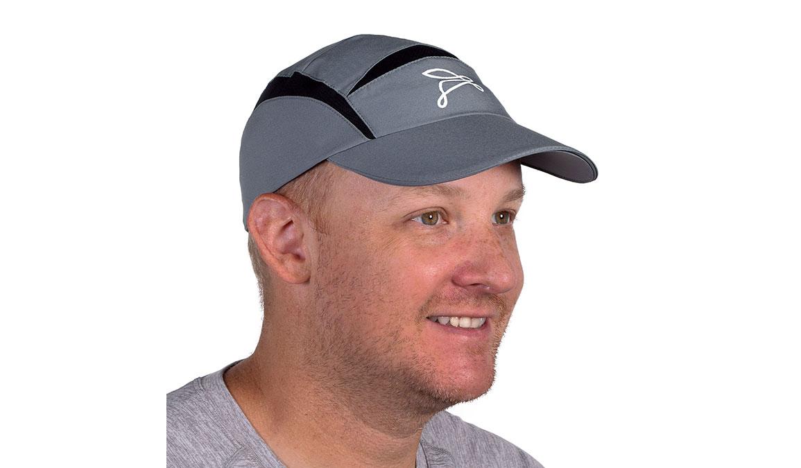 Unisex JackRabbit Triumph Hat  - Color: Grey Size: OS, Grey, large, image 2