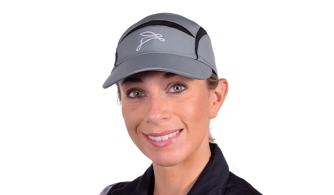 Unisex JackRabbit Triumph Hat  - Color: Grey Size: OS, Grey, large, image 4