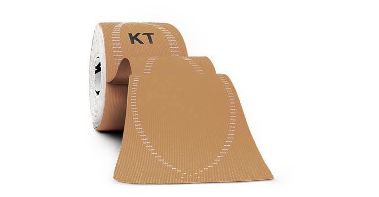 Unisex KT Tape PRO Elastic Athletic Tape - 20 Strips - Color: Beige - Size:, Tan, large, image 1