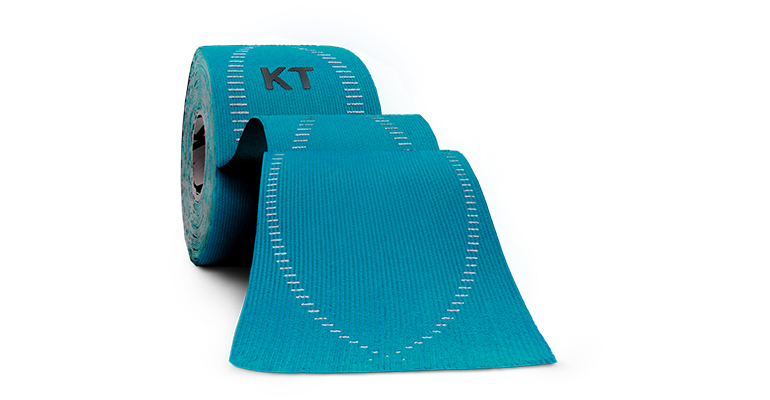 KT Tape PRO Elastic Athletic Tape - 20 Strips - Color: Laser Blue - Size:, Aqua, large, image 1