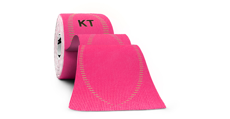KT Tape PRO Elastic Athletic Tape - 20 Strips - Color: Pink - Size:, Pink, large, image 1