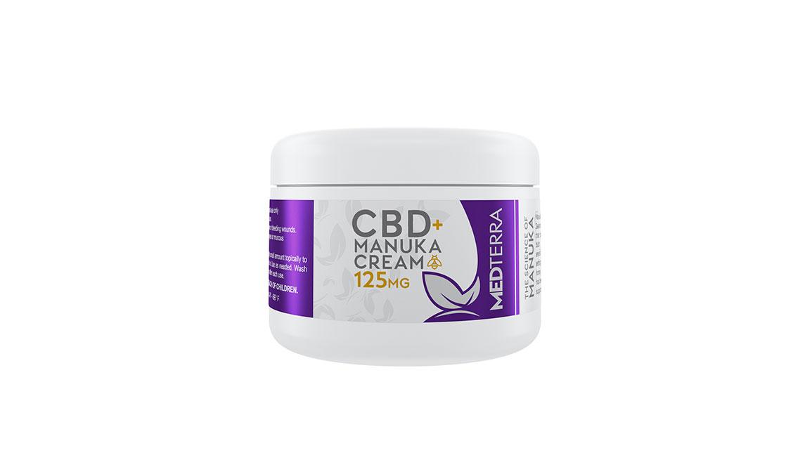 Medterra CBD + Manuka Cream, , large, image 1
