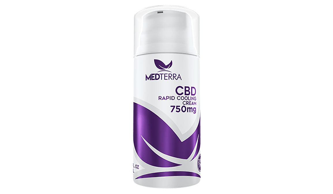 Medterra CBD Rapid Cooling Cream - Size: 750 mg, , large, image 1
