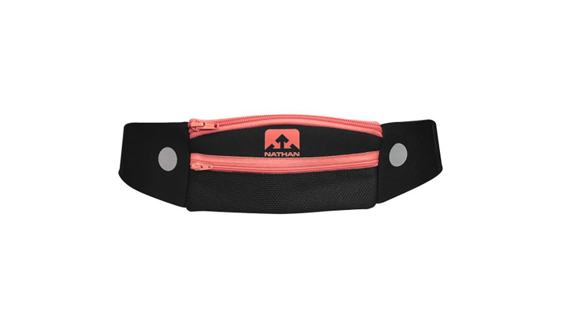 Unisex Nathan 5K Runner's Pack - Color: Black/Coral - Size: OSFM, Black, large, image 1
