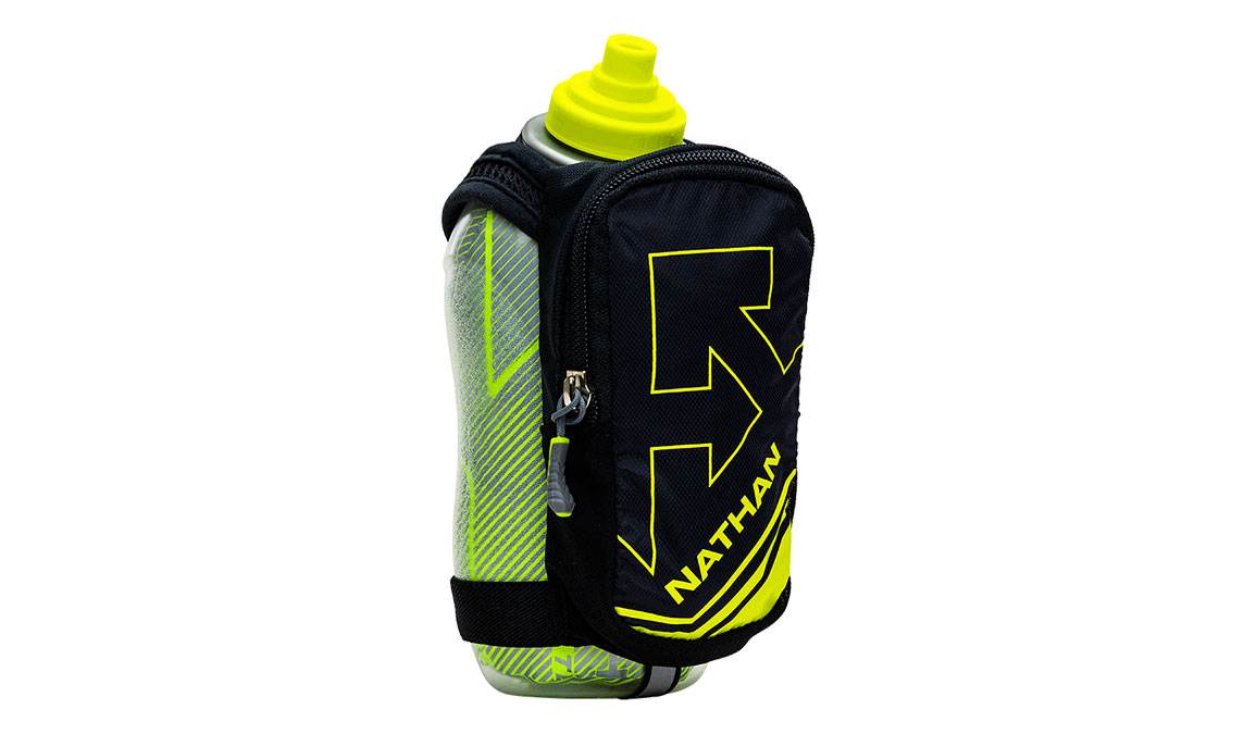 Nathan SpeedDraw Plus 18 oz  - Color: Black/Yellow Size: OS, Black/Yellow, large, image 1